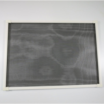 Aluminum telescopic flyscreen window