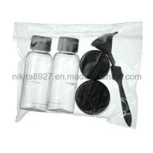 Plastic Cosmetic Travel Bottle Set (NTR05)
