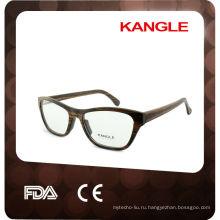 Горячая ручной оправы очки Бамбук деревянные очки