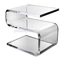 Acryl gebogene klare Tabelle für Wohnmöbel