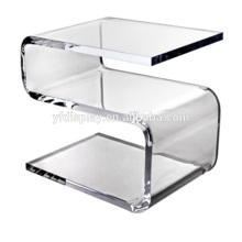 Acrylic Bended Clear Table for Home Furniture