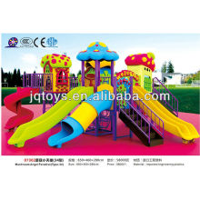 JS07302 Hot Outdoor Plastic Tube Playground Toy metal outdoor playground toys