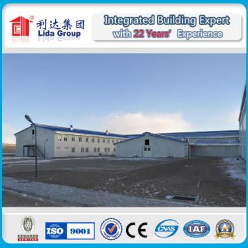 O metal pré-fabricado desmonta a construção de aço do armazém fabricada