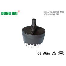 Commutateur rotatif de sélection de vitesse du ventilateur