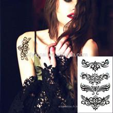 Facile transfert autocollants beauté visage femmes tatouage de Chine