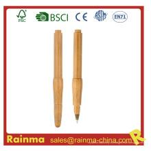 Bolígrafo de bambú de madera para los efectos de escritorio de Eco