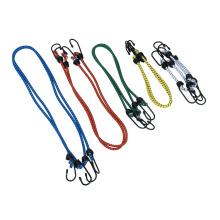 Эластичная веревка с эластичными веревками и пластиковыми крючками