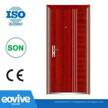 Portes métalliques de conception populaire pour magasins