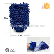 AZO waterproof chenille car wash mitt, BSCI wash glove                             Any color and size is available~