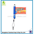 promotional cheap plastic window ball pen