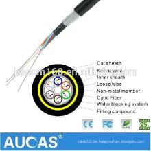 Benutzerdefiniertes ADSS 48 Kernfaser-Optikkabel, ADSS Kabel Produktionslinie