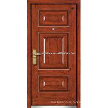 Panel Design Stahl Holz gepanzerte Tür