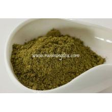 Fabricación de té en polvo