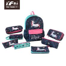 Custom unicorn style stationery set