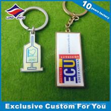 Продвижение Собственный Логотип Металла Брелок Подарок Сувенир