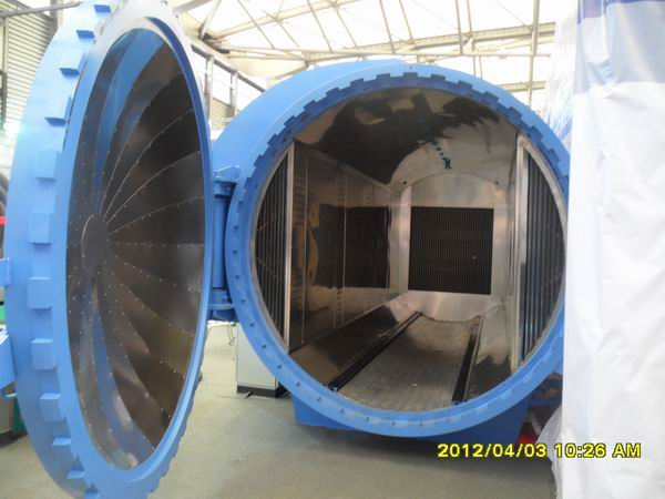 UG 3D Design Glass Laminating Autoclave Glass Reactor