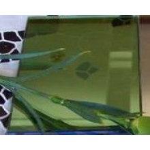 Verre unidirectionnel vert foncé de 5.5mm pour la décoration