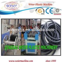 PP PE PVC PA corrugated conduit pipe making machinery