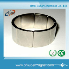 China Wholesale Sintered Permanent Large Arc Magnets