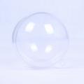 100мм пластиковый прозрачный бесшовный Рождественский бал безделушка