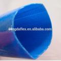 6 Inch PVC Lay Flat Hose / Blue PVC Water Discharge Hose /PVC Drip Irrigation Hose