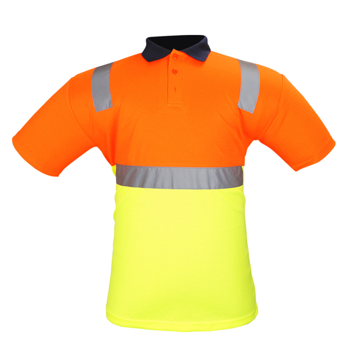 Reflective Worker Polo Shirt