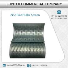Pantalla del Huller del arroz de zinc de la alta calidad disponible para la fuente de la exportación