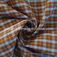 T / C Jacquard Yarn-Dyed Plaid Poplin Fabric for T-Shirt