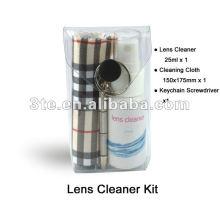 Kit de nettoyant pour lentilles et lunettes