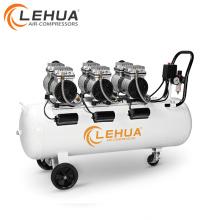 100l 63,7mm zylinder ölfreie luftkompressor fabrik maschine