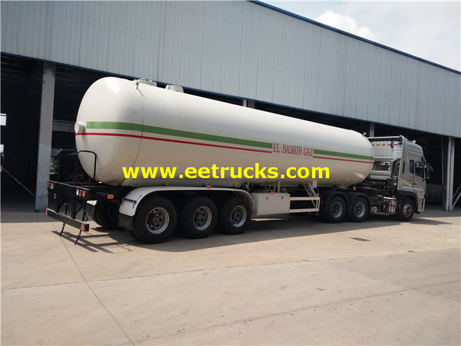 LPG Gas Trailer Tanker