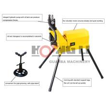 """Groove hydraulique de rouleau de YG6C, machine de rainurage de tuyau, 1 1/4 """"-6"""""""