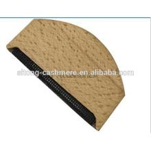 Pente de Cashmere de madeira Para remover os remédios