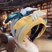 Wholesale Fashion Designer bow hair band cat ear headband silk headbands for women