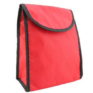 Plain Red Color Lightweight Business Office Lunch Bag