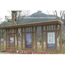 Varios tipos de WPC Pabellón de China