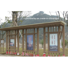 Various Kinds of WPC Pavilion From China