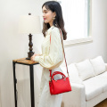 Trendy Red Tote Sling Body Bag para Mujeres