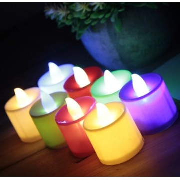 Flameless Mini Led Wax Tea Light Tealight Lilin