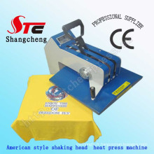 Style américain de 2015 Swing Away tête chaleur Press Machine 38 * 38cm T Shirt secouant la tête thermique transfert Machine transfert de chaleur Printing Machine Stc-SD03