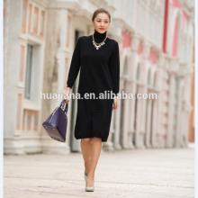 woman's cashmere knitting sweater dress