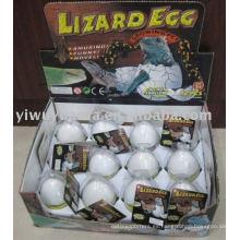Juguete creciente del huevo del lagarto de crecimiento
