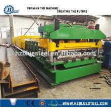 Стальная линия для производства плит из оцинкованной металлической стали, станок для производства металлической плитки