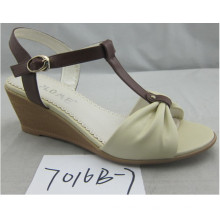 New Style Wedge Heel Open Toe Slingback Sandal