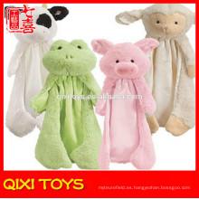 mantas de bebé cabezas de animales manta de bebé patrón de animal