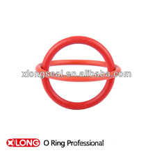 Nouvelle conception PU O Rings Rouge