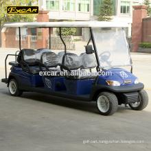 EXCAR 8 seater electric golf cart cheap club car golf buggy car china golf buggy car