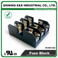 FB-M033SQ UL zugelassen 600V 30A Klasse M Panel montiert 3-Wege-Sicherungskasten