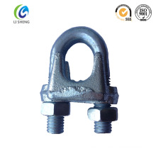 China supplier manufacturer U.S type drop forged wire rope clamp