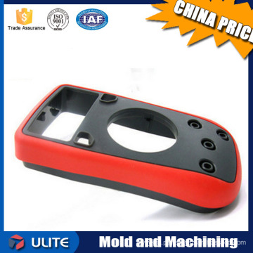 Cobertura caixa de invólucro peças de plástico moldadas por injeção e peças de reposição de máquinas de moldagem por injeção de plástico